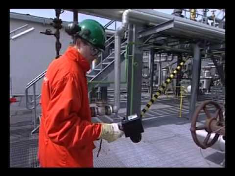 Ultrasonic gas leak detection
