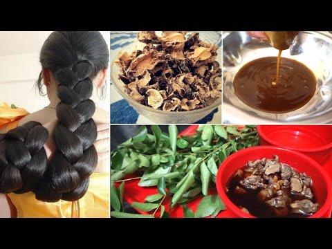 Homemade Amla hair oil for hair growth, grandma's SECRET hair oil recipe for super thick long hair