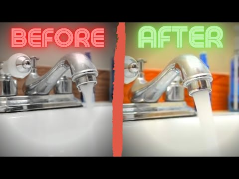 How to fix a faucet with low water pressure | bathroom sink | kitchen sink
