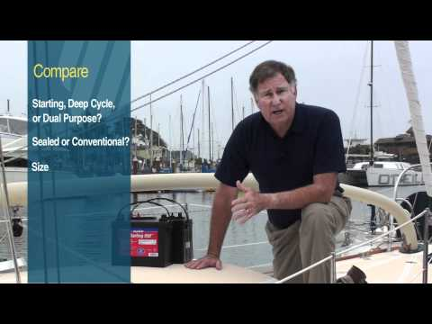 Buyer's Guide to Marine Batteries