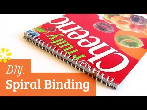DIY Spiral Bookbinding Tutorial | Sea Lemon