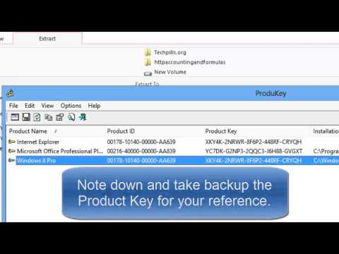 How to get back the Product Key if you lost for Windows OS and Applications?