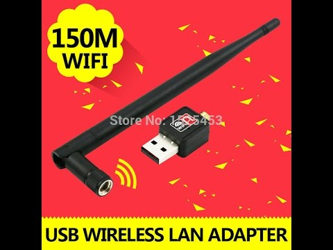 Mini USB 150Mbps Wireless Adapter 150M Computer LAN Card 802.11n/g/b Antenna For Laptop With Package