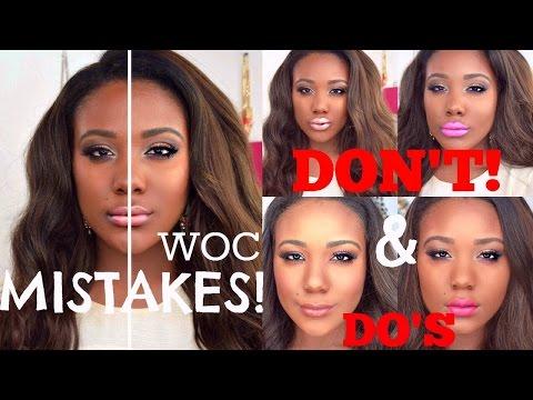 Black Women Lipstick MISTAKES To Avoid + TOP WOC DRUGSTORE LIPSTICKS