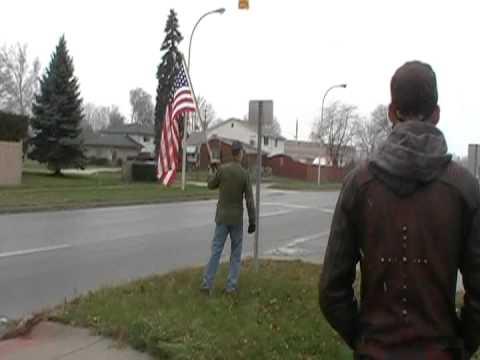 Lowes Protest in Allen Park Michigan 2