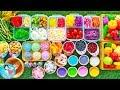 ละครสั้น เจ๊เปิดร้านขายสลัดผักผลไม้ น้ำสลัด7สี ของเล่นเครื่องครัวของเล่นทำอาหาร เรียนรู้ชื่อผักผลไม้