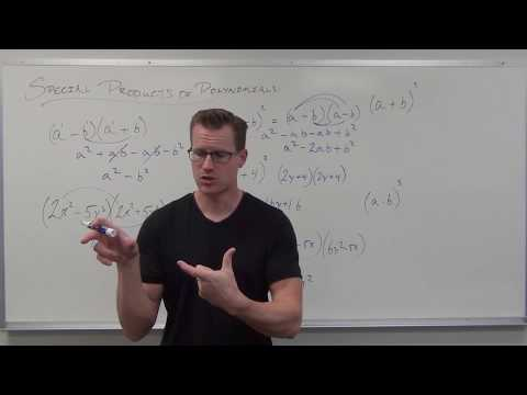 Special Products of Polynomials (TTP Video 71)