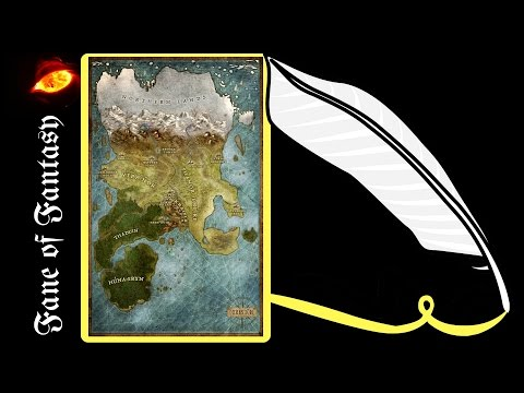 Fantasy Map Making * How to make a sketch of a fantasy map * #faneoffantasy