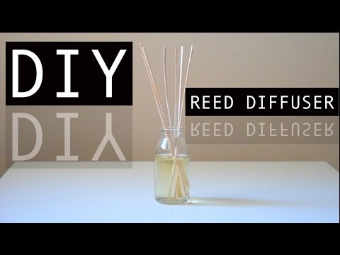 DIY Reed Diffuser: How to make your room smell good!