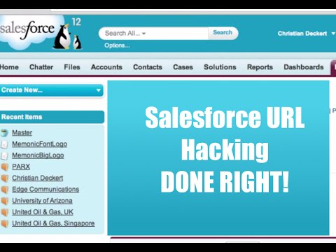 How-to: Create a Custom Button |  URL Hacking in Salesforce.com