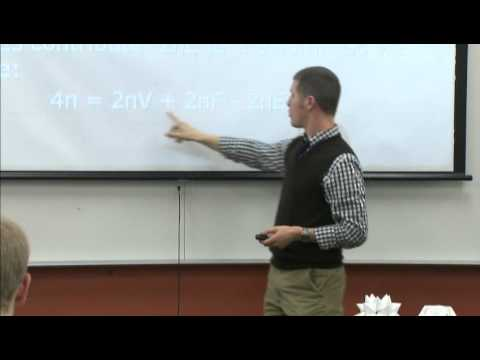 Math Seminar: Eulers Formula for Polyhedra by Dan Garbowitz