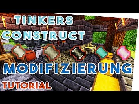 Tinkers Construct Modifizierung Übersicht- Welche Materialien in der Schmelze bringen was? German