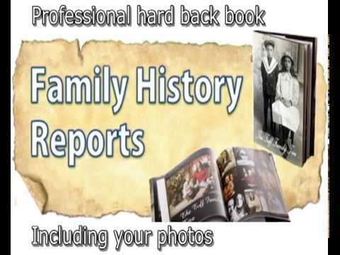 Family History Reports, Genealogy and Ancestry Research