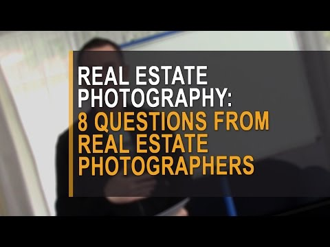 8 questions from real estate photographers