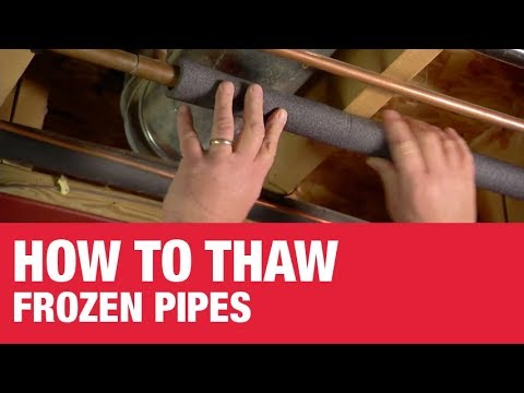How To Thaw Frozen Pipes - Ace Hardware