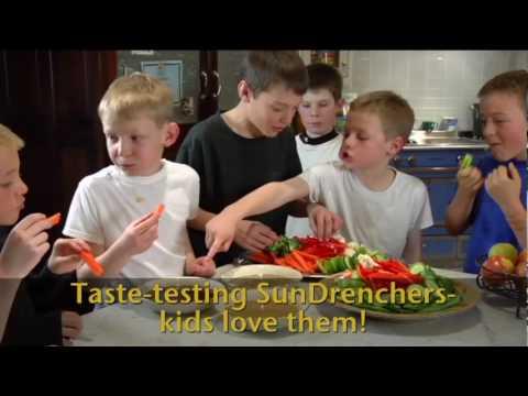 SunDrenchers - Kids eating vegetables!