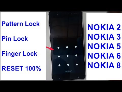 Nokia 2  3  5  6  8 Hard Reset phone lock Pattern Lock easy work 2018