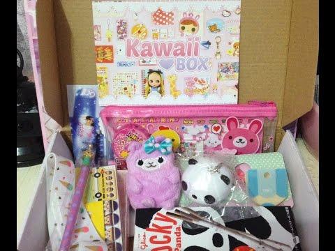January Kawaii Box Subscription + GIVEAWAY !