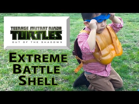 Teenage Mutant Ninja Turtles Out of the Shadows Extreme Battle Shell from Playmates Toys