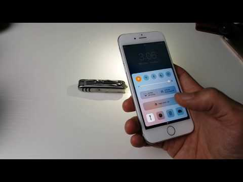 How to Turn ON/OFF Flashlight with Shortcut | iPhone 6 & 6 Plus