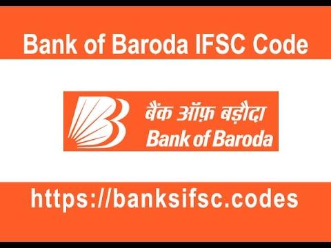 Bank Of Baroda IFSC Code