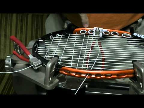 Stringing Prince Rackets - The Problem
