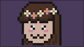 Minecraft: SÓ PIXEL ART KAWAII COM A JAZZY! (BUILD BATTLE)