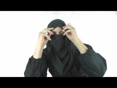 How To Make a Ninja Mask with a T Shirt - Kage Ninja Gear