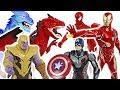 Avengers End Game Shield Blast Captain America Repulsor Blast Iron Man DuDuPopTOY