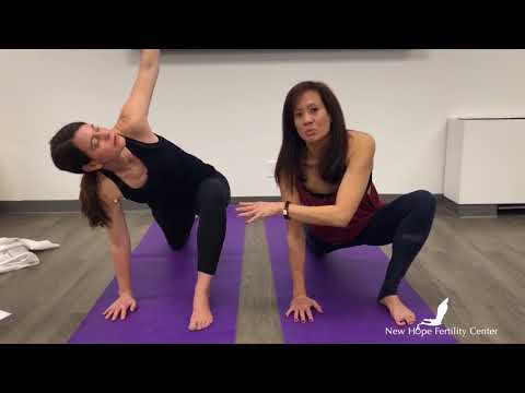 Yoga for Fertility Daily Routine Demo