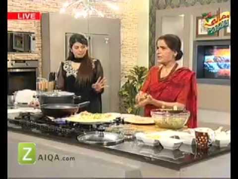 Kofta Biryani, Lal Lobia Chaat And Labnani Kabab by Zubaida Tariq   Zaiqa