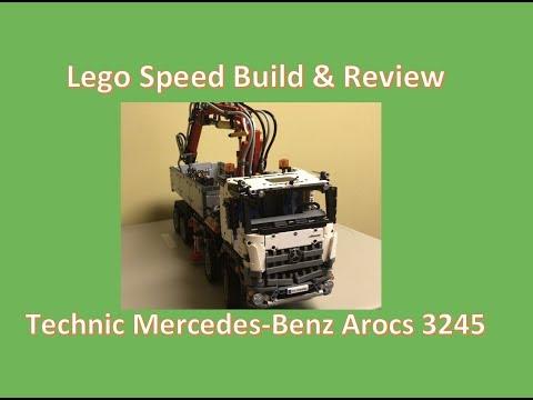 Lego Technic Mercedes-Benz Arocs 3245 Speed Build & Review