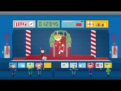 Santa Tracker:  Comm Room