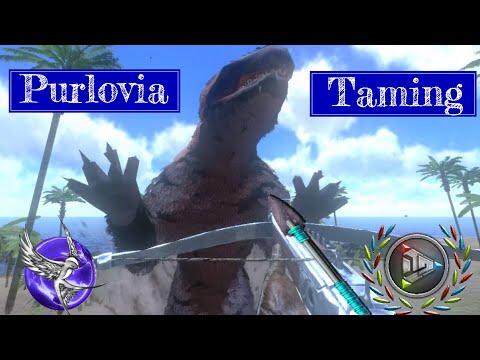 NEW PURLOVIA TAMING!!! | [S1E11] | Ark Survival Evolved