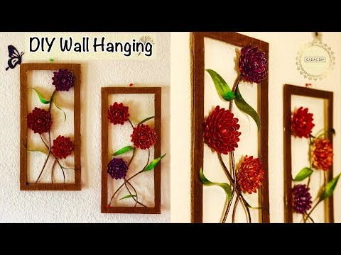 Diy Wall Hanging Crafts | Crafts with Recycled Materials | Paper Crafts | Craft ideas for home decor