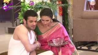 On Location of TV Serial 'Yeh Hai Mohabattein'  Ishita & Raman celebrate Diwali