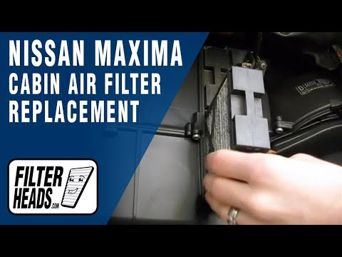 How to Replace Cabin Air Filter Nissan Maxima