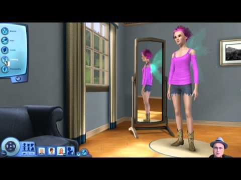 The Sims 3: Supernatural - Episode 1 - Character Creation