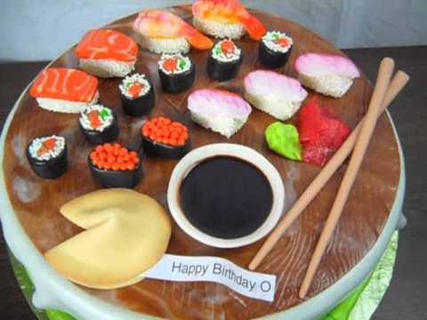 Sushi Cake by Artisan Cake Company