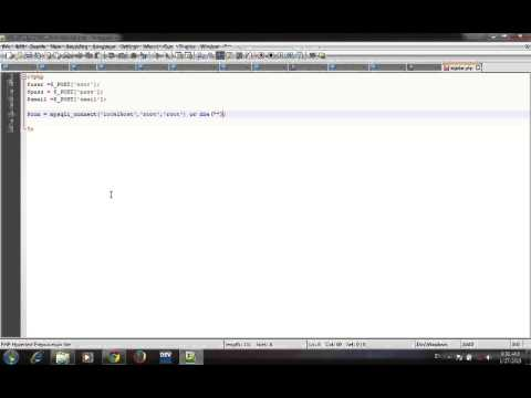 create registration page using html php and mysql by mubarak