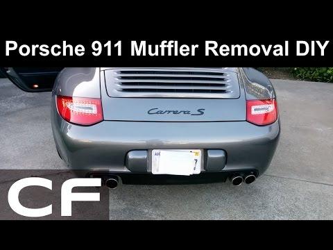 ✪ How to remove Porsche 911 Exhaust (997 / 997.2 Muffler)  ✪