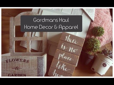 Shop with Me   Gordmans Haul   Rustic Home Decor & Fun Apparel   #GotItAtGordmans