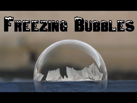 Freezing bubbles | Jaklovce -16 °C | 4K | Slovakia | Alex Mohler