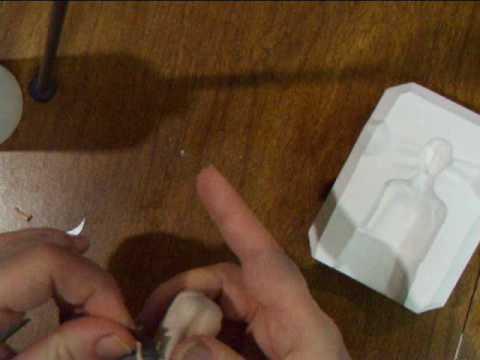 Polymer clay  press mold