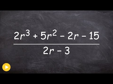How to use synthetic division with fractions ohh fractions