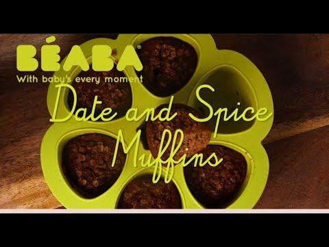 Beaba Babycook Recipe - Date & Spice Muffins - Direct2Mum