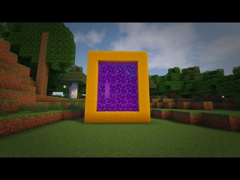 How to Make a Portal to the SUN in Minecraft (No Mods UPDATED)