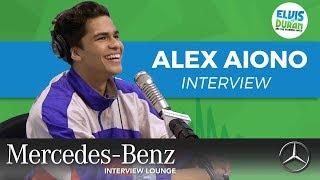 Alex Aiono on Never Before Heard Song | Elvis Duran Show