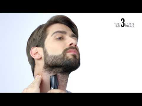 Creating a Balbo beard and soul patch look with the GD60 i-Shaper 3-in-1 Trimmer