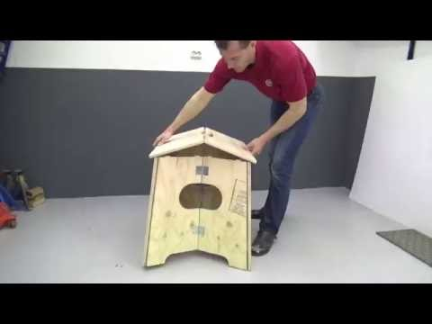 How to make a foldable crossfit box
